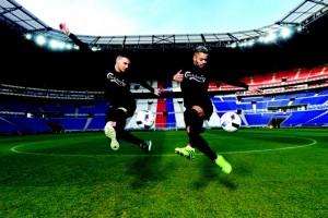 Carlsberg activation at the Grande Stade, Lyon, France. Photo: Visionhaus/Gary Prior